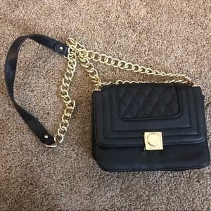 Small Black crossbody purse